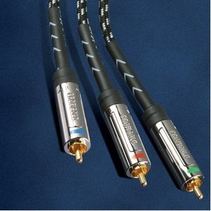 Profigold Component Videokabel 3x RCA Male - 3x RCA Male 2.00 m Zwart