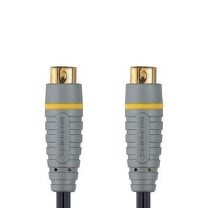 Bandridge S-Video Kabel S-Video Male - S-Video Male 2.00 m Blauw