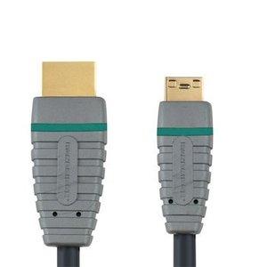 Bandridge High Speed HDMI Kabel HDMI-Connector - HDMI Mini-Connector Male 2.00 m Blauw