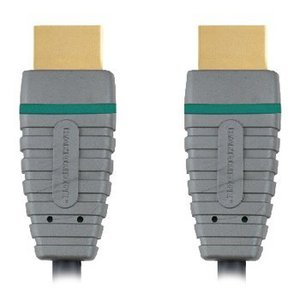 Bandridge High Speed HDMI kabel met Ethernet HDMI-Connector - HDMI-Connector 20.0 m Blauw