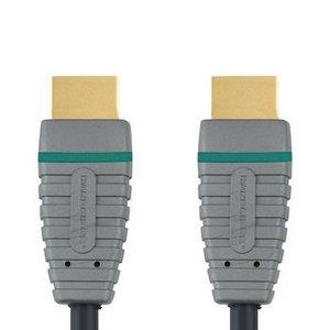 Bandridge High Speed HDMI kabel met Ethernet HDMI-Connector - HDMI-Connector 5.00 m Blauw