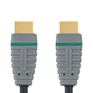 Bandridge High Speed HDMI kabel met Ethernet HDMI-Connector - HDMI-Connector 1.00 m Blauw