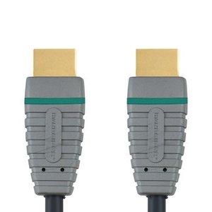 Bandridge High Speed HDMI Kabel HDMI-Connector - HDMI-Connector 3.00 m Blauw