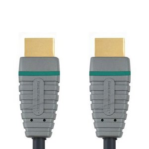 Bandridge High Speed HDMI kabel met Ethernet HDMI-Connector - HDMI-Connector 5.00 m Blauw