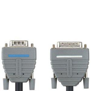 Bandridge DVI Kabel DVI-A 12+5-Pins Male - VGA Male 2.00 m Blauw