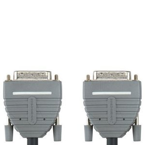 Bandridge DVI Kabel DVI-D 24+1-Pins Male - DVI-D 24+1-Pins Male 2.00 m Blauw