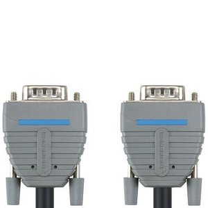 Bandridge VGA Kabel VGA Male - VGA Male 5.00 m Blauw