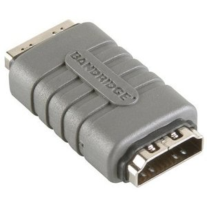 Bandridge High Speed HDMI met Ethernet Adapter HDMI Female - HDMI Female Grijs
