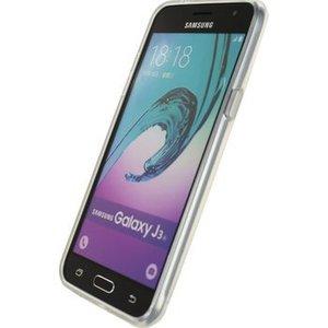 Mobilize Smartphone Gel-case Samsung Galaxy J3 2016 Transparant