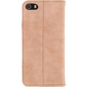 Mobilize Smartphone Premium Magnet Book Case Apple iPhone 5 / 5s / SE Roze