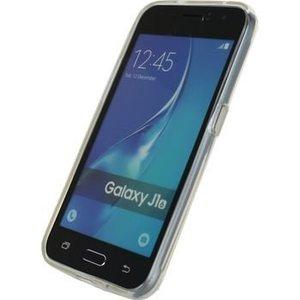 Mobilize Smartphone Gel-case Samsung Galaxy J1 2016 Transparant