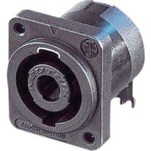 Neutrik Appliance plug, Speakon Zwart 4P