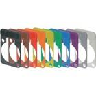 Neutrik Colour-coded marking plate Zwart