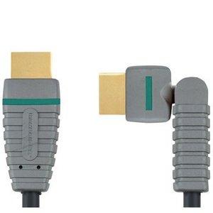 Bandridge Roteerbare snelle HDMI-kabel met ethernet 2.0 m