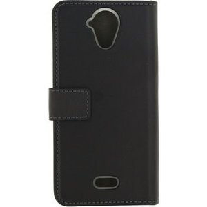 Mobilize Smartphone Gelly Wallet Book Case Wiko U Feel Lite Zwart