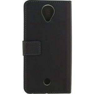 Mobilize Smartphone Gelly Wallet Book Case Wiko U Feel Zwart