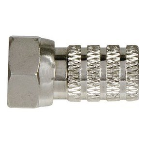 Macab F-Connector 6.3 mm Male Metaal Zilver