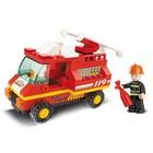 Sluban Bouwstenen Town Serie Brandweerwagen