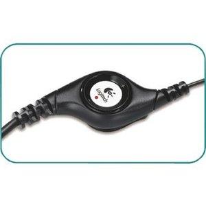 Logitech Headset On-Ear USB Bedraad Ingebouwde Microfoon Zwart