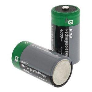HQ Oplaadbare NiMH Batterij C 1.2 V 4000 mAh 2-Blister