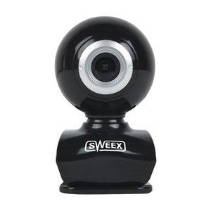 Sweex Webcam USB 0.3 MPixel SD Kunststof Zwart/Zilver