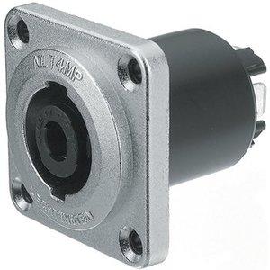 Neutrik Flush-mounted connector, Speakon STX Zilver 4P