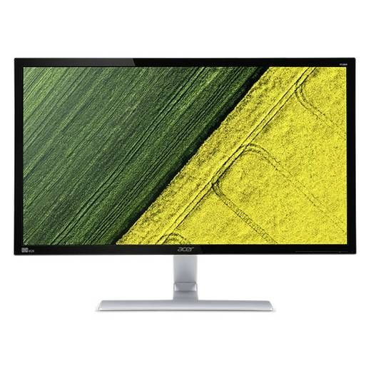 Acer LED monitor 71.1 cm (28 inch) Energy label B 3840 x 2160 pix UHD 2160p (4K) 1 ms DVI, HDMI, DisplayPort, Audi