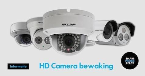 Hikvision HD camerabewaking