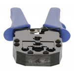 Modular crimping tool network connectors