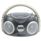 König AM / FM radio- / CD-speler grijs