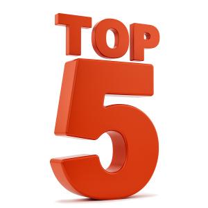Top 5 sold cameras