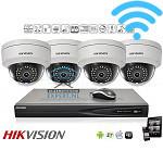 HD IP camerabewaking kit (draadloos)