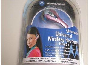 Motorola universal wireless headset HS801