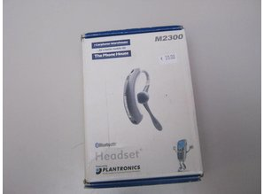 Plantronics bluetooth headset M2300Plantronics m2300 bluetooth headset
