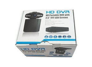 "DUO HD DVR, HD Portable DVR with 2.5""TFT LCD Screen"