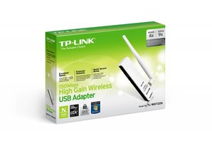 TP-Link 150Mbps High Gain Wireless USB Adapter TL-WN722N