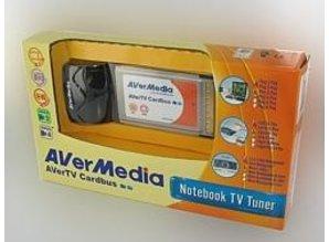 AVerMedia AverTV Cardbus, Notebook TV Tuner