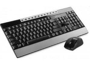 Media-tech Multimedia Keyboard & Optical Mouse Set RF 2.4GHz, MT1414