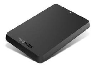 Toshiba Portable Hard Drive Storage, 500GB