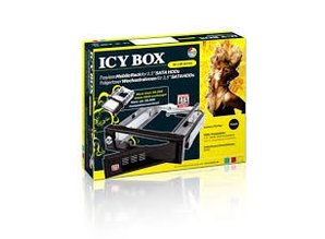 "Icybox Trayless Mobile Rack for 3.5"" SATA HDDs, IB-168SK-B"