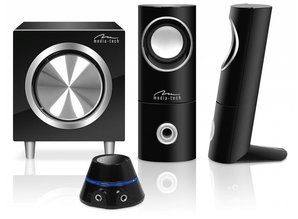 Media-tech MT3325, Speakersset 2.1
