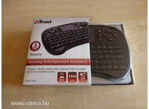 Trust Tocamy Wireless Entertainment Keyboard - Draadloos toetsenbord - QWERTY