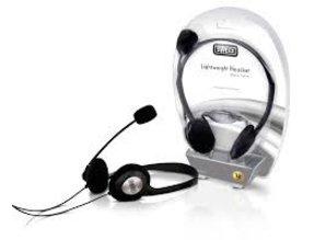 Sweex Llichtgewicht headset zwart