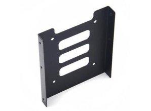 "2.5"" naar 3.5"" SSD HDD mounting bracket zwart"