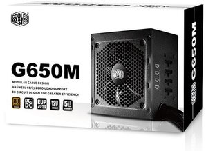 Cooler Master pv voeding 650W G650M