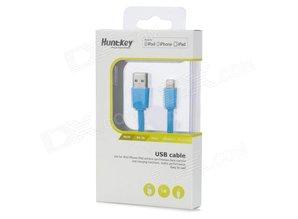 HuntKey usb iphone ipad 4 5 lader usb kabel