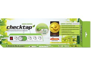 checktap green control stekker blok