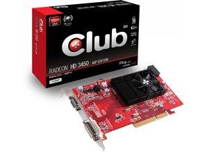 AGP Club3D ATI HD 3450 VGA DVI