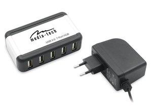 Media-tech MT5011 7PORT USB HUB