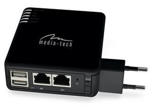 Media-tech portable Wlan Server Router 3.5G Pro